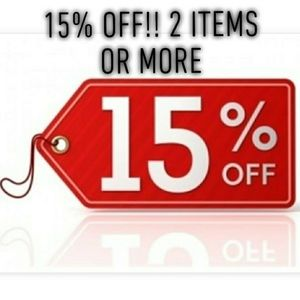 15% Off Bundle!! Just 2 Items